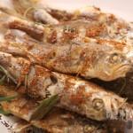 简单烤小黄花鱼