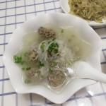 牛肉丸子白萝卜丝汤
