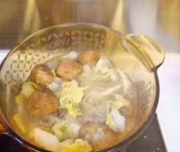 炖肉丸白菜粉丝