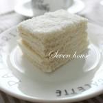 椰蓉云朵蛋糕