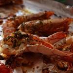 百里香烤虾