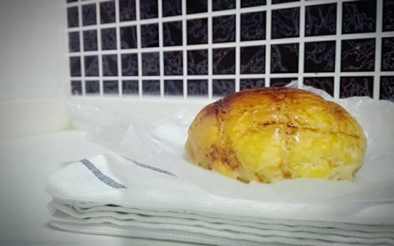 有菠萝的菠萝包
