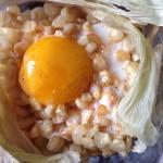 原香盐焗玉米蛋黄拌