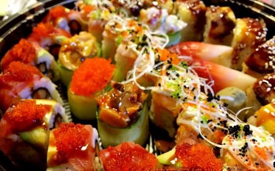 寿司拼盘制作