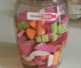 自制泡菜(酵素瓶)