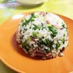 香肠咸肉香菇青菜饭
