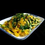 菠蘿蜜炒韭菜