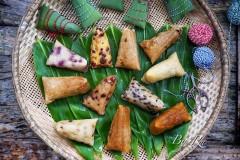 11种口味的粽子.咸粽.甜粽-附粽子包法