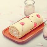 樱花蛋糕卷🌸