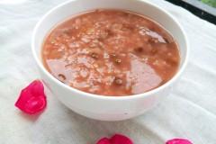 蔷薇绿豆粥