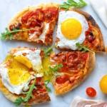 三分钟早餐之鸡蛋披萨