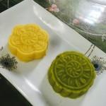 夏日冰品:抹茶绿豆凉糕