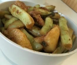 土豆豆角炖肉---我爱家常菜