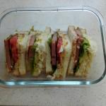 简单的三明治组合