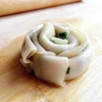 饺子皮&葱油饼