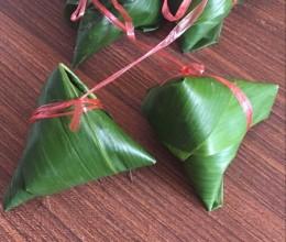 四角粽的包法