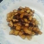 土豆香菇丁