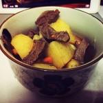 土豆牛肉煲