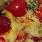 蛋饼芝士披萨