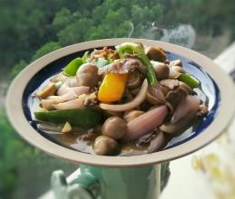 蠔油肉片鲜菇(快手版)