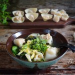 虾仁猪肉胡萝卜馄饨-附剥活虾技巧.几种馄饨包法
