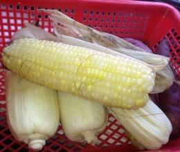 高压锅水煮玉米地瓜