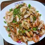 椒盐北极虾