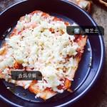 简易虾仁披萨