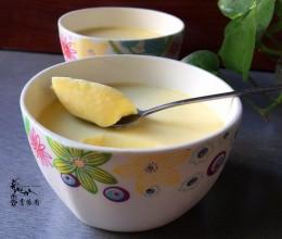 鲜奶炖滑蛋(无需奶油的蛋挞水)