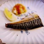 日式鹽烤鯖魚