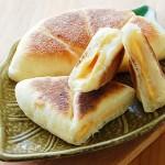 乳酪夹心发面饼