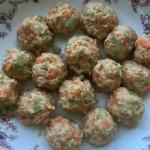 蔬菜丸子彩色
