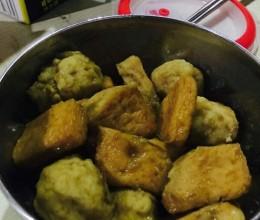 咖喱鱼豆腐(墨鱼丸)
