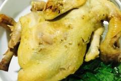 电压力锅版葱油盐焗鸡