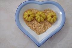 红薯糯米南瓜饼