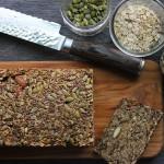 【健康三餐】无面粉高纤能量面包
