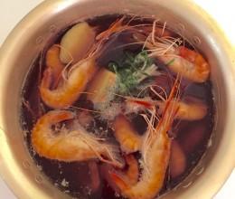 生抽台湾虾