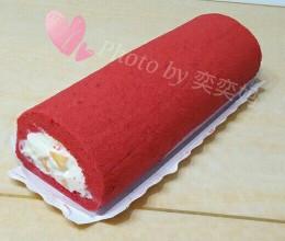 红丝绒瑞士蛋糕卷