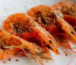 盐煎黑椒虾