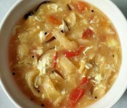 西红柿猪油皮汤