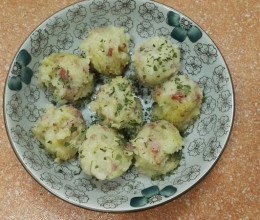 土豆培根乳酪球