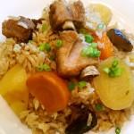 排骨香菇饭