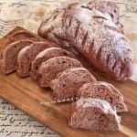 黑糖核桃全麦面包