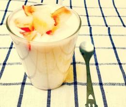 水蜜桃酸奶