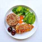 低卡减脂瘦身餐-鸡胸肉+粗粮