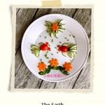 蔬菜摆盘秀