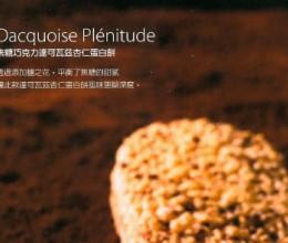 焦糖巧克力达克瓦兹杏仁蛋白饼Dacquoise Plénitude《Pierre Hermé 写给你的法式点心书》