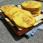 新鲜香甜玉米饼