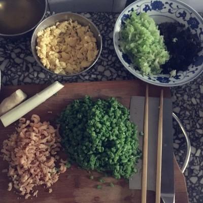 豇豆圆白菜饺子馅