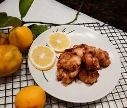 香烤盐渍柠檬腌鸡块